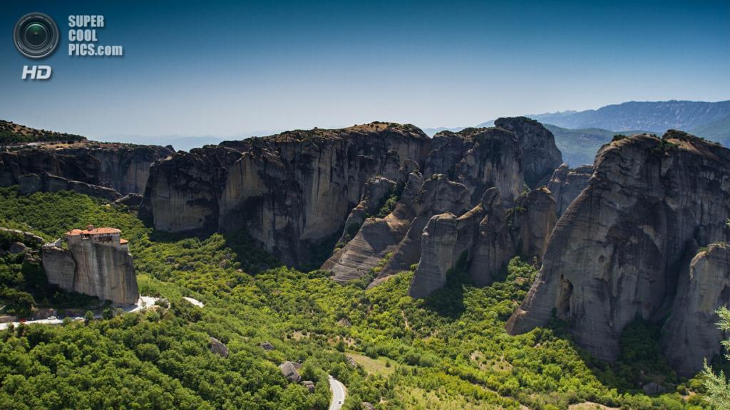 Греция. Монастырь Русану или святой Варвары. (Silviu Opris)