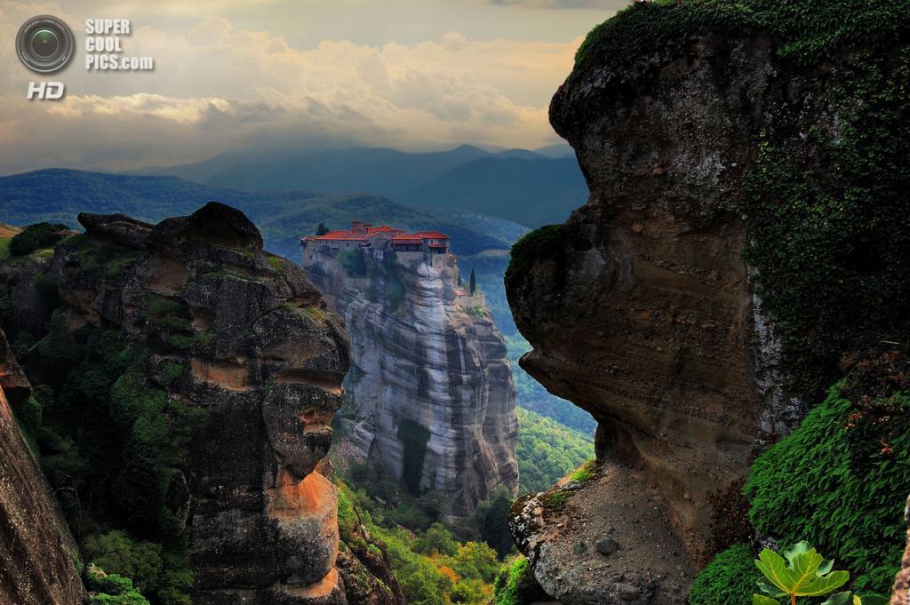 Греция. Монастырь Варлаама. (Галантус)