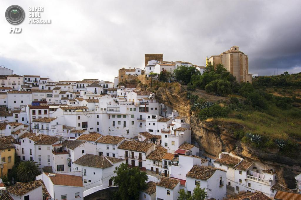Испания. Сетениль-де-лас-Бодегас, Андалусия. (Stephen Dagley)