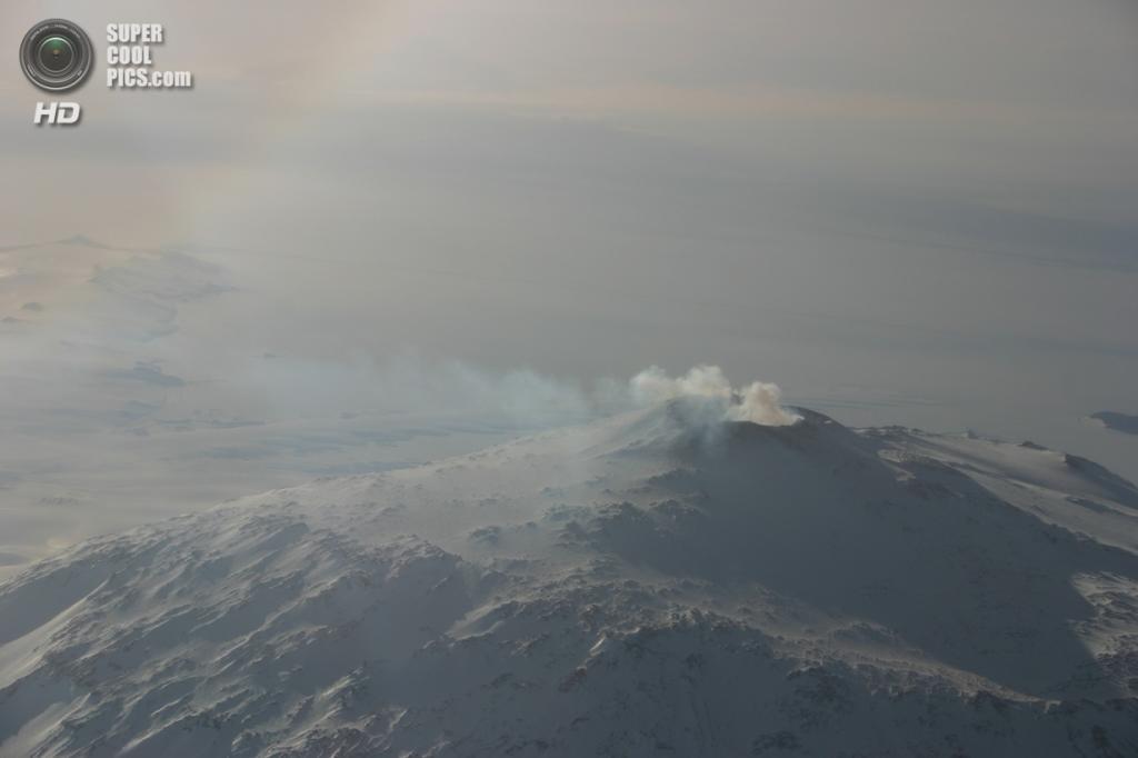 Антарктида. Вулкан Эребус. (jeaneeem)