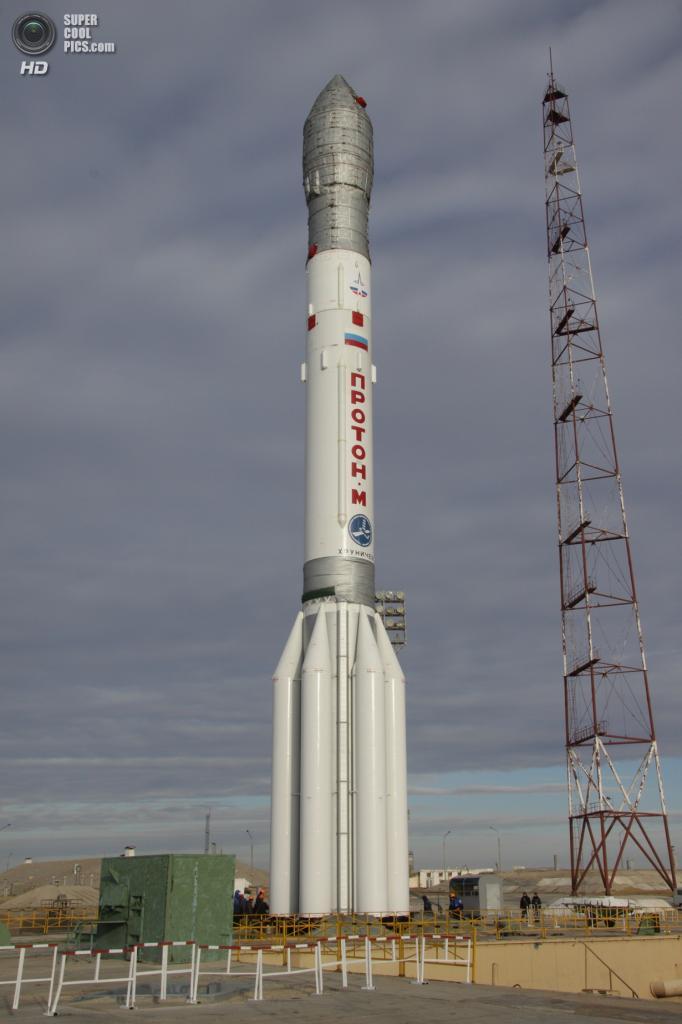 Ракета-носитель «Протон-М». (BastNat)