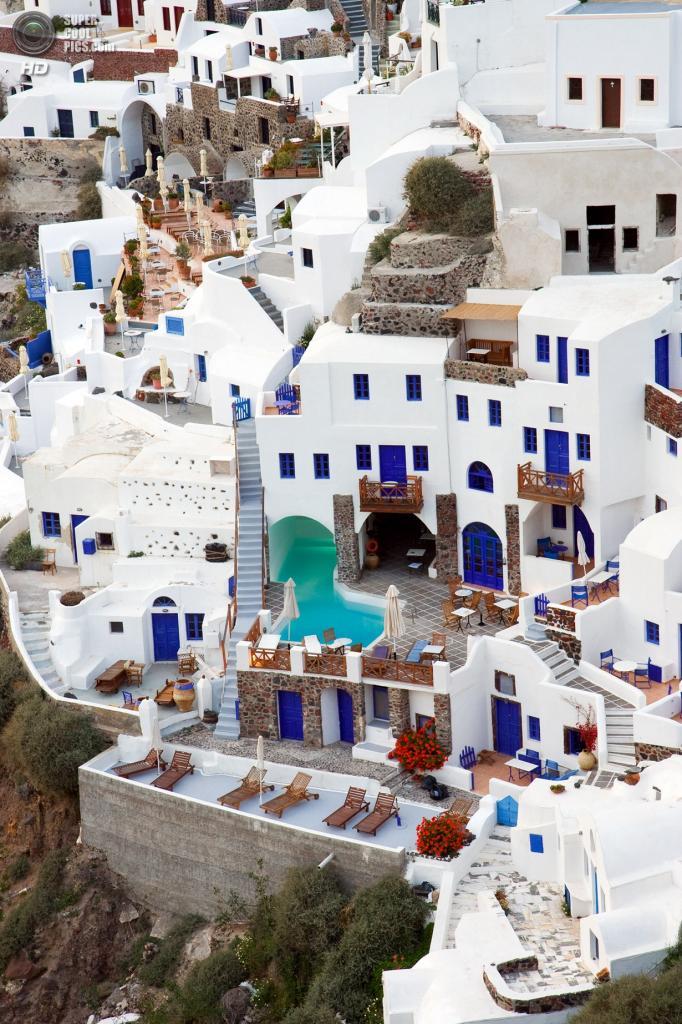 Греция. Остров Санторини. (Waqas Ahmed)
