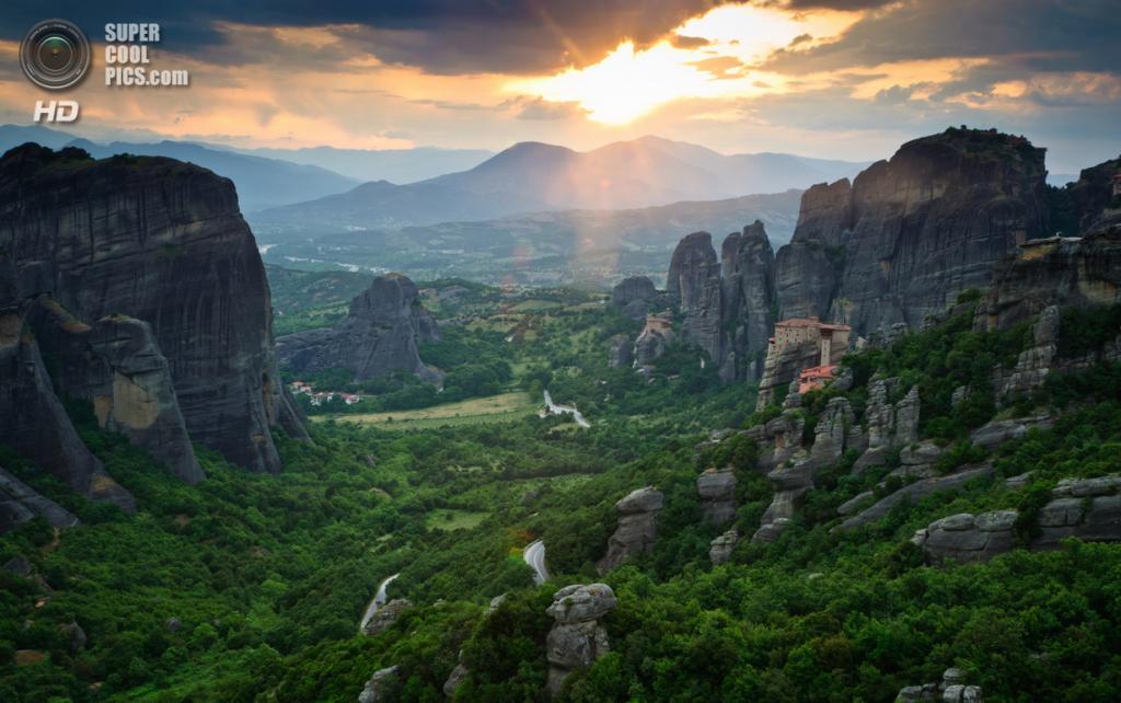 Греция. Монастыри Метеоры. (Danel Solabarrieta)