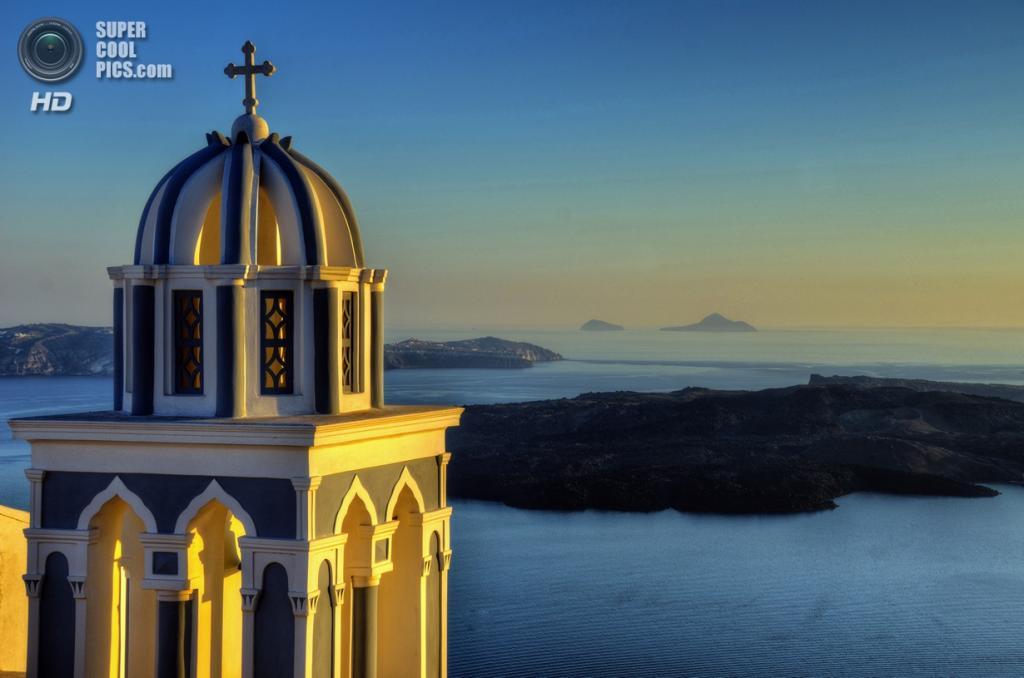Греция. Остров Санторини. (Aaron Geddes)