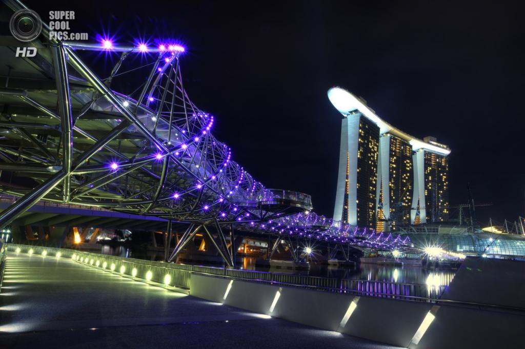 Сингапур. Спиральный мост. (schaazzz)
