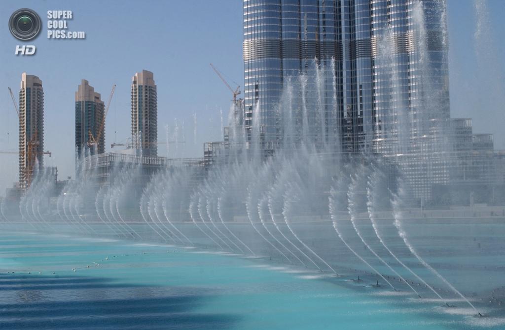 Объединенные Арабские Эмираты. Дубай. Музыкальный фонтан «Дубай». (Steven Byles)