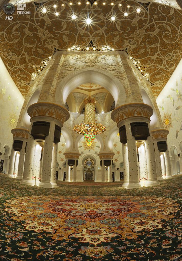 Объединённые Арабские Эмираты. Абу-Даби. Мечеть шейха Зайда. (Visit Abu Dhabi)