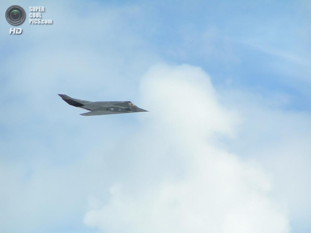 Lockheed F-117 Nighthawk. (Shaun Tarlton)