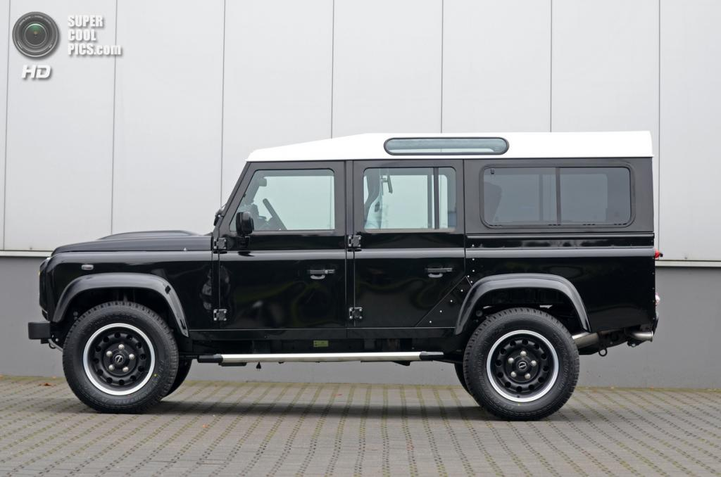 Land Rover Defender Series 3.1. (Jaguar Land Rover/Startech)
