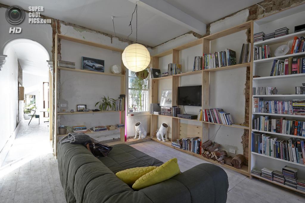 Австралия. Мельбурн. «Кукольный дом», спроектированный архитектурным бюро Edwards Moore. (Frasen Marsden)