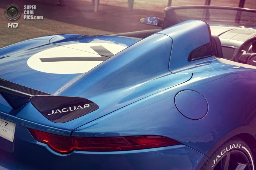 Jaguar Project 7. (Jaguar Land Rover Ltd.)
