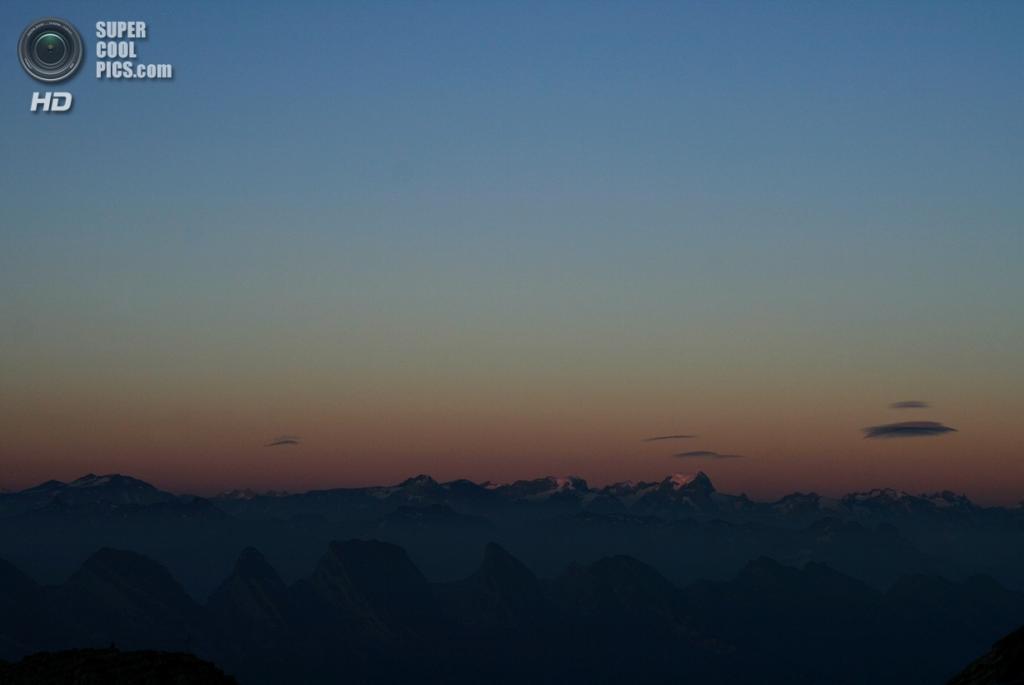 Швейцария. Аппенцелль-Иннерроден. Вид с горы Зентис. (♠ c0l0gne1 ♣)