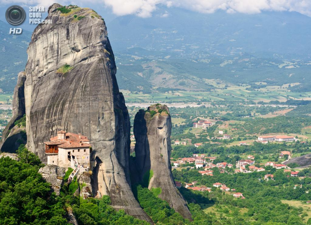 Греция.  Монастырь Русану или святой Варвары. (Danel Solabarrieta)