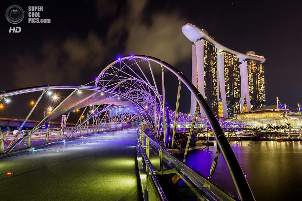 Сингапур. Спиральный мост. (Jeffery Goh)