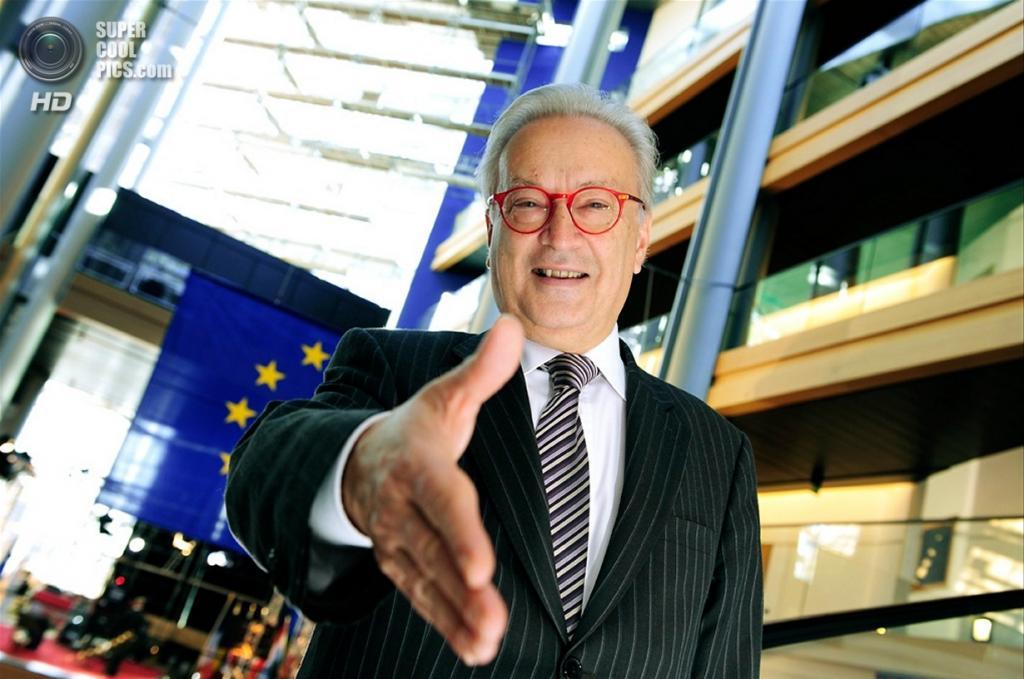 Австрийский политик Ганнес Свобода приветствует Хорватию в составе Евросоюза. (PE-EP/Pietro Naj-Oleari)