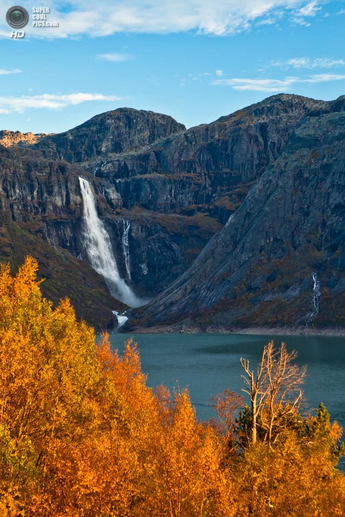 Норвегия. Озеро Рингедалсватн. (Dag Endre Opedal)