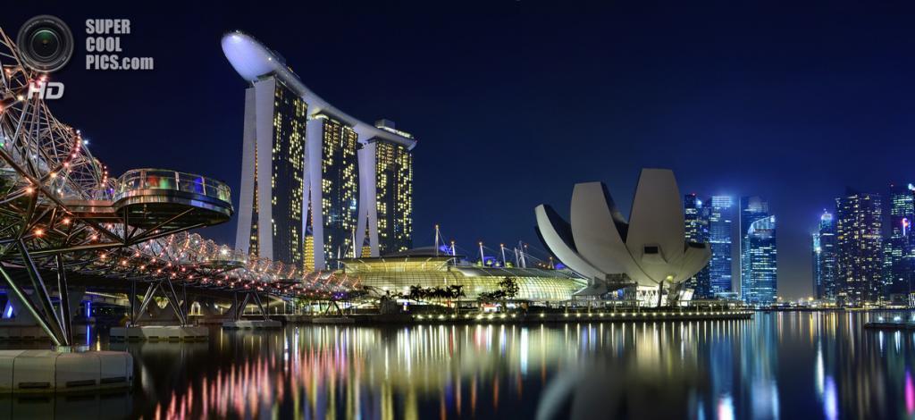 Сингапур. Спиральный мост. (williamcho)