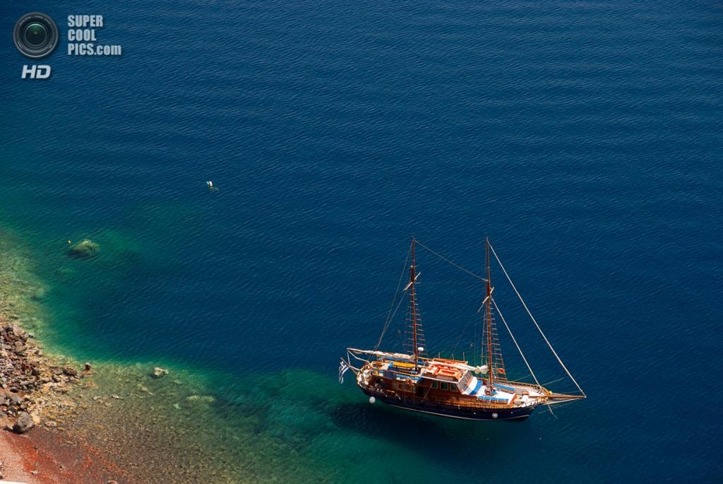 Греция. Остров Санторини. (eartemov)