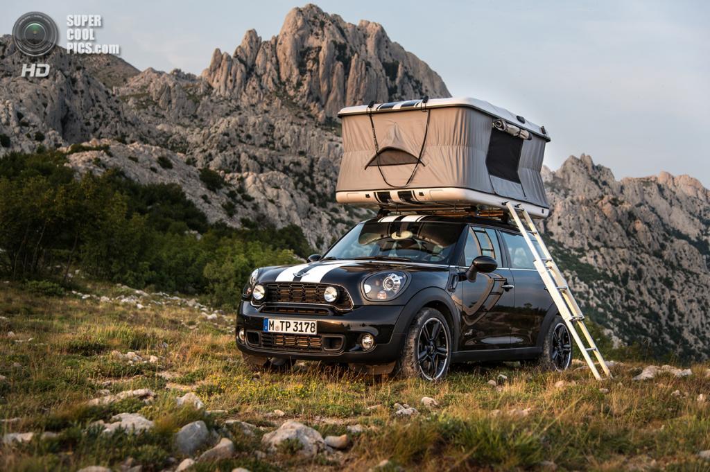 MINI Cooper S Countryman ALL4 Camp. (BMW AG/MINI)