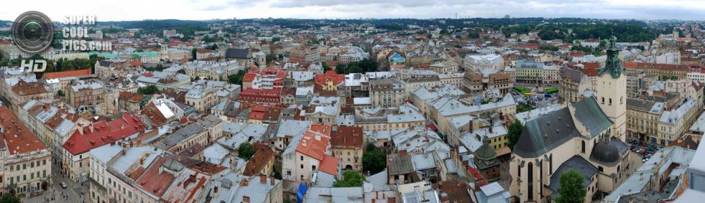 Панорама Львова. (Andrew Goloida)