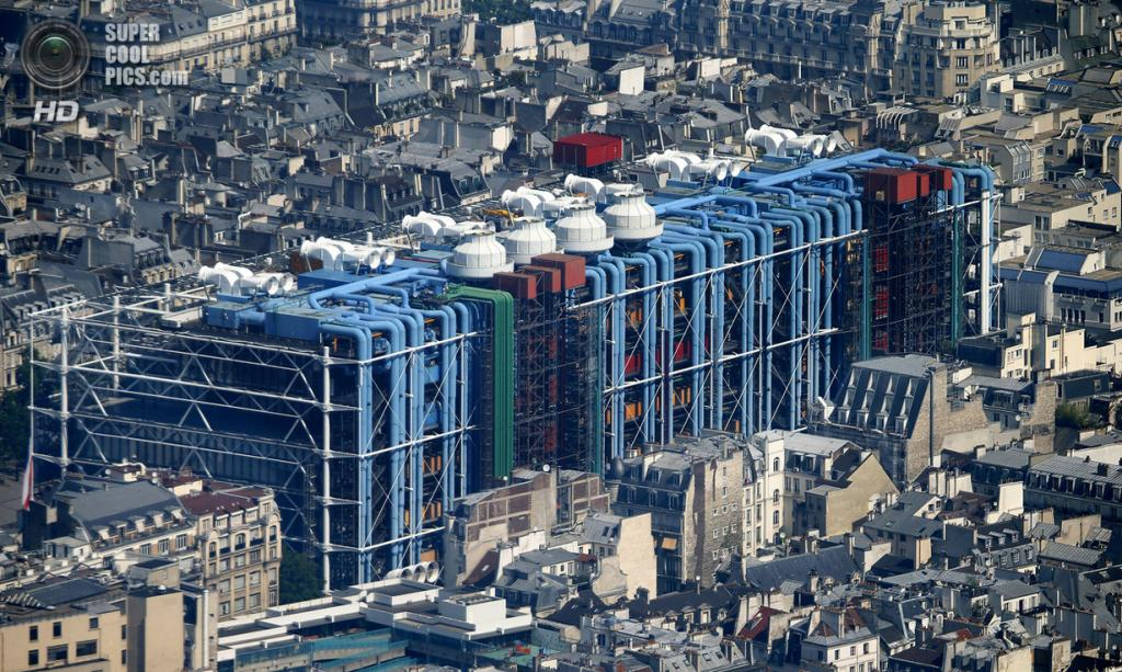 Париж с высоты птичьего полёта 25 фото