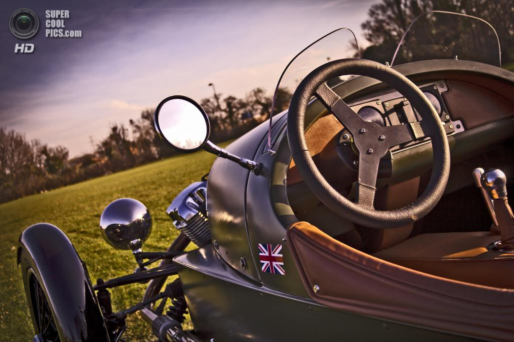 Morgan 3 Wheeler. (Morgan Motor Company)