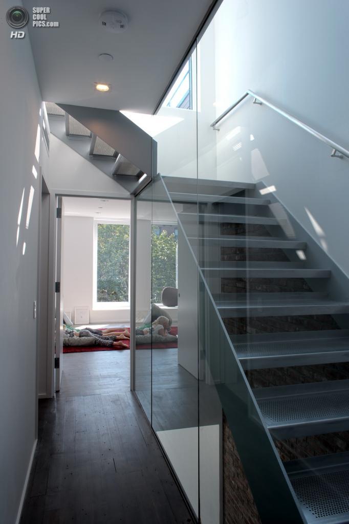 США. Нью-Йорк. Tighthouse, спроектированный архитектурным бюро Fabrica718. (Hai Zhang)