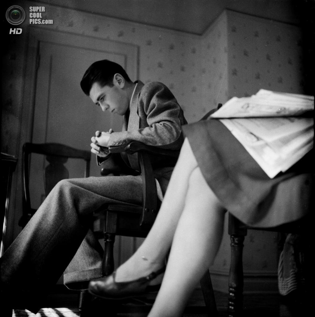 США. Нью-Йорк. 1947 год. Очередь к дантисту. (V&M/Look/Stanley Kubrick)