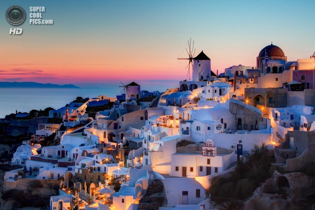 Греция. Остров Санторини. (Pedro Szekely)