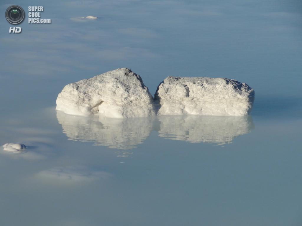 Исландия. Гриндавик, Рейкъянес. Геотермальный курорт «Голубая лагуна». (Hélène_D)