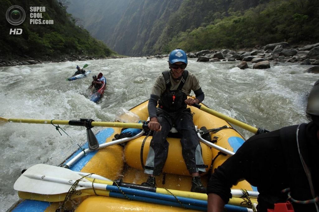 Перу. 21 сентября 2012 года. Во время экспедиции «Амазонский экспресс». (Erich Schlegel/ZUMA Press)