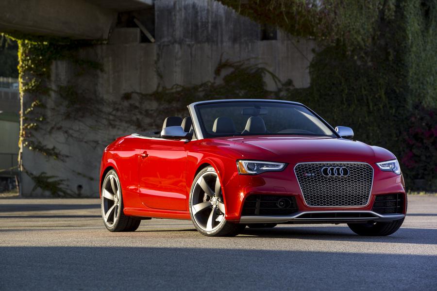 Audi RS5: Скоростной кабриолет (13 фото + HD-видео)