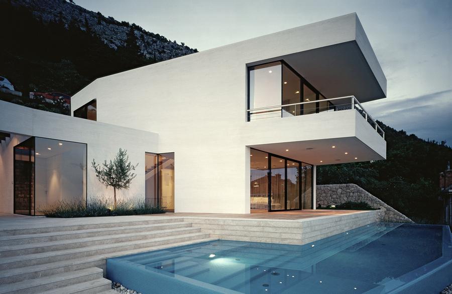 Роскошная вилла House U в Дубровнике (20 фото)