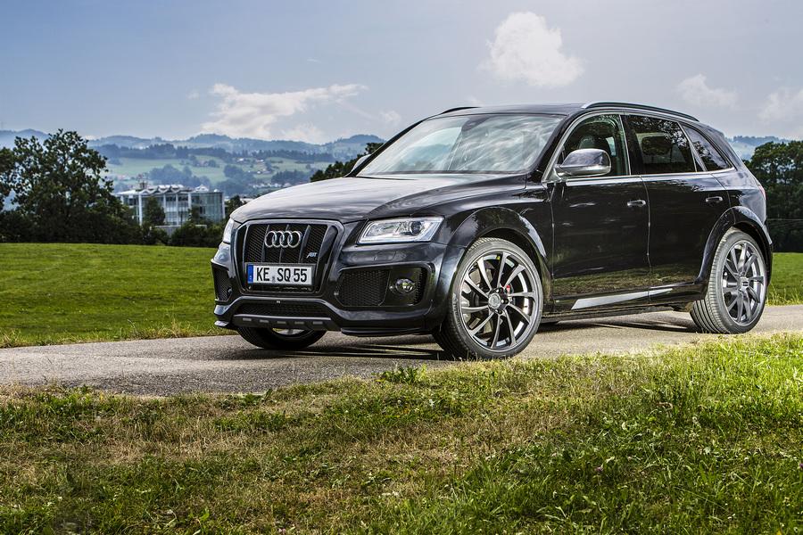 Праздник абсурда от Audi и ABT Sportsline (10 фото)