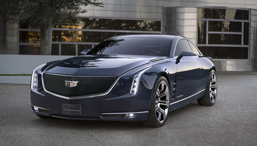 Концептуальный «Мираж» от Cadillac (6 фото + HD-видео)
