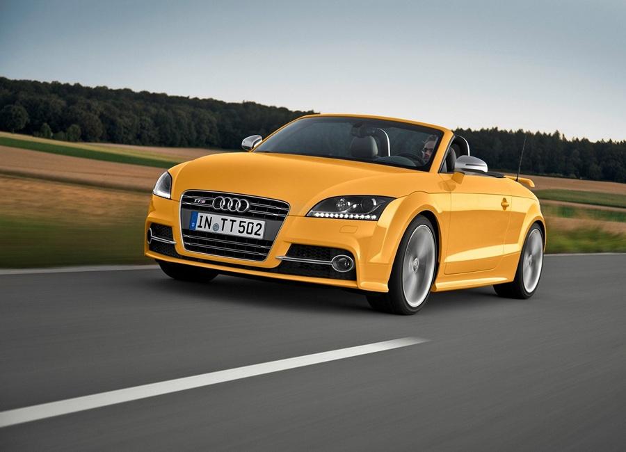 Audi TTS Roadster. (Audi AG)