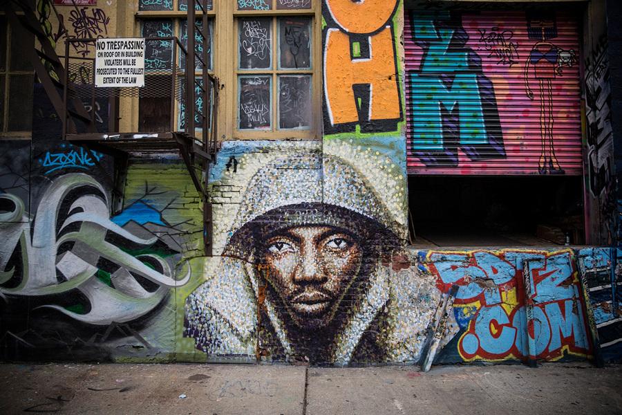 Мекка граффити идёт под снос (13 фото)