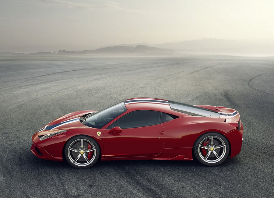 Ferrari 458 Speciale. (Ferrari)