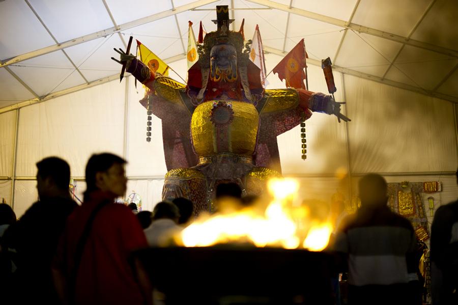 Фестиваль голодных духов (13 фото)