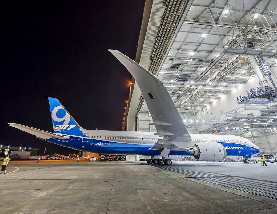 Boeing 787-9 Dreamliner. (Boeing)