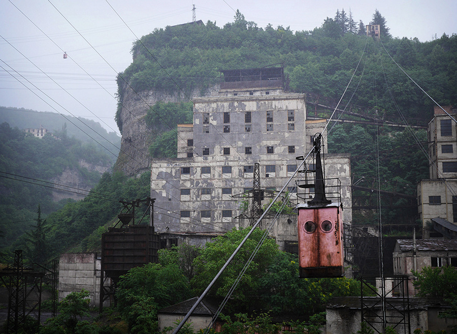 Канатная дорога Сталина (20 фото)
