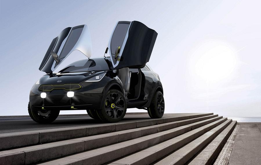 Kia Niro Concept. (Kia Motors)