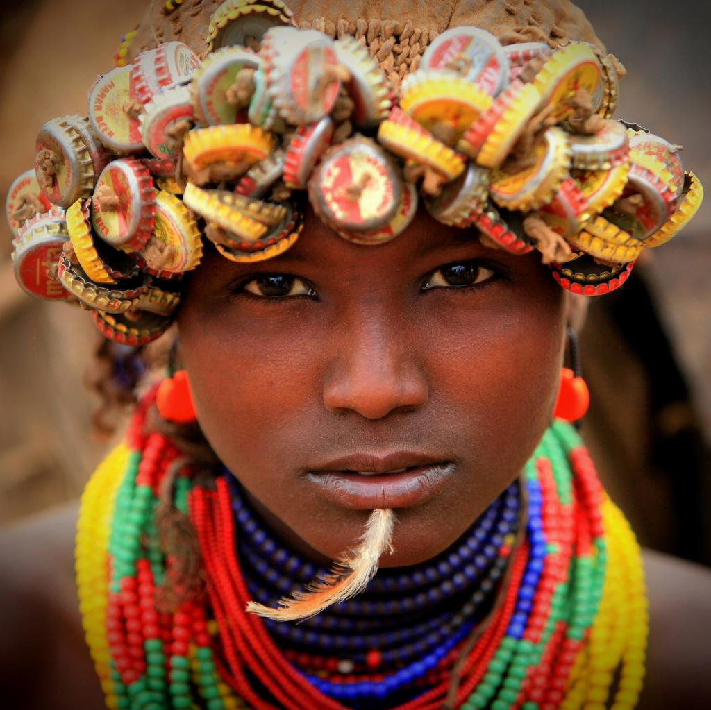 Ethiopia: Valley of the Omo, Dassanetch. (Photo by Claude Gourlay)