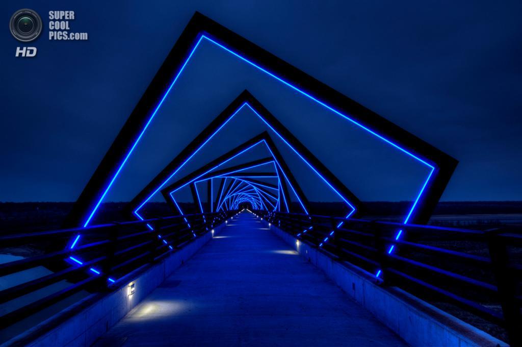 США. Айова. Мост High Trestle Trail. (David Parker)