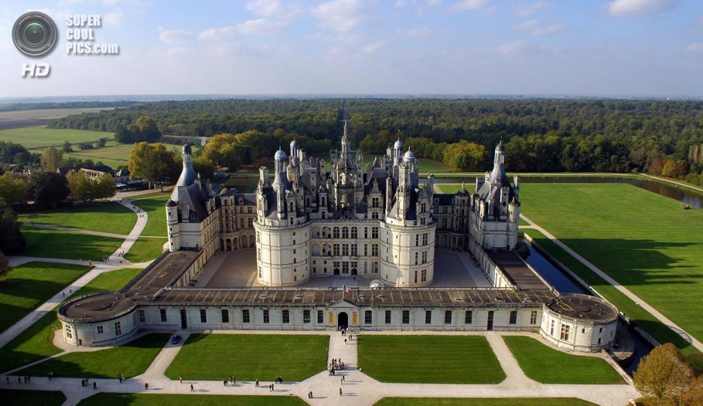Франция. Луар и Шер. Замок Шамбор. (L. de Serres)