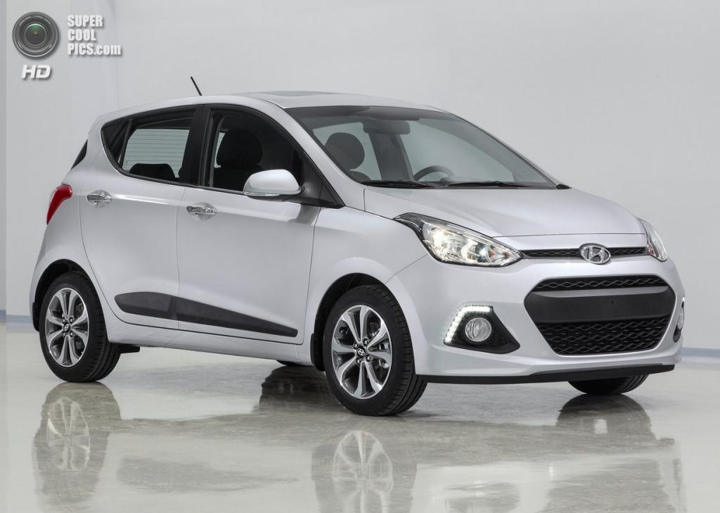 Hyundai i10. (Hyundai Motor Company)