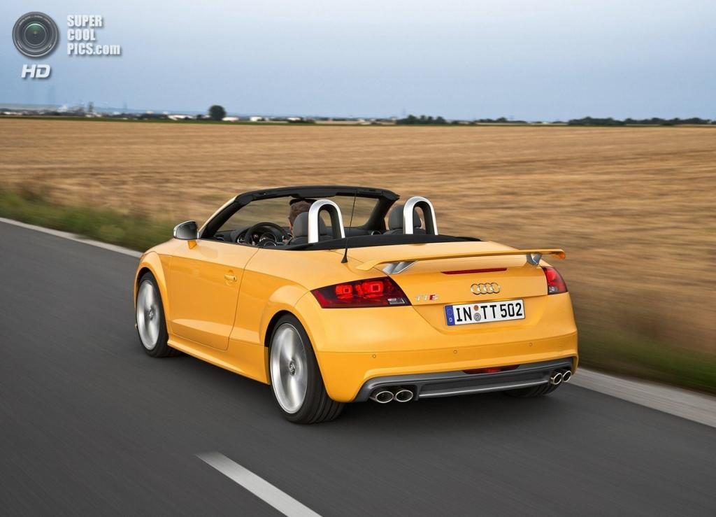 Audi TTS Roadster Competition. (Audi AG)