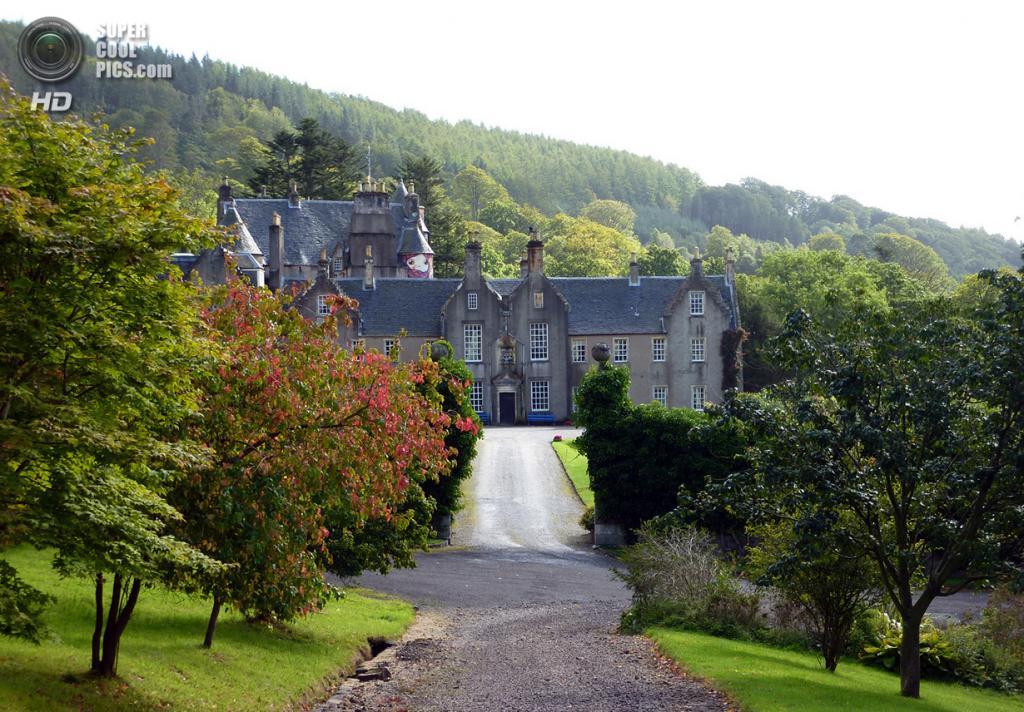 Северный Эйршир. Шотландия. Замок Кельбурн. (Euan Freeman)