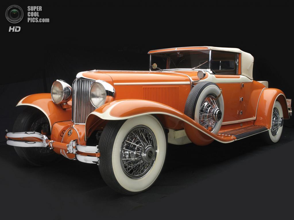 США. Нэшвилл, Теннесси. 18 августа. Cord L-29 Cabriolet, 1929 г.в. (Peter Harholdt/Frist Center for the Visual Arts)