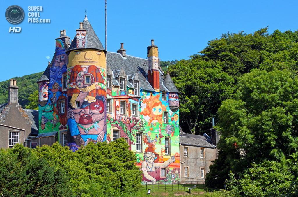 Северный Эйршир. Шотландия. Замок Кельбурн. (Robin Wilkie)